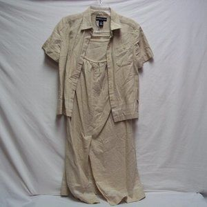 Tan Outfit Size Sm/Med